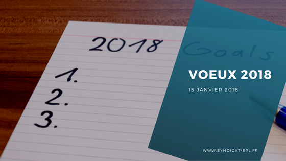 National : Voeux 2018